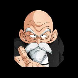 Master Roshi's Resolve Master Roshi